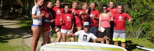 Panama Bikram Yoga & Surf Retreat Video