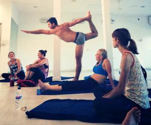 Bikram Yoga Posture Clinic - Retreat Mexico