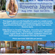 Luxury Bikram Yoga Retreat in Sri Lanka with Rowena Jayne