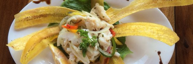 Caribbean Style Seafood Ceviche